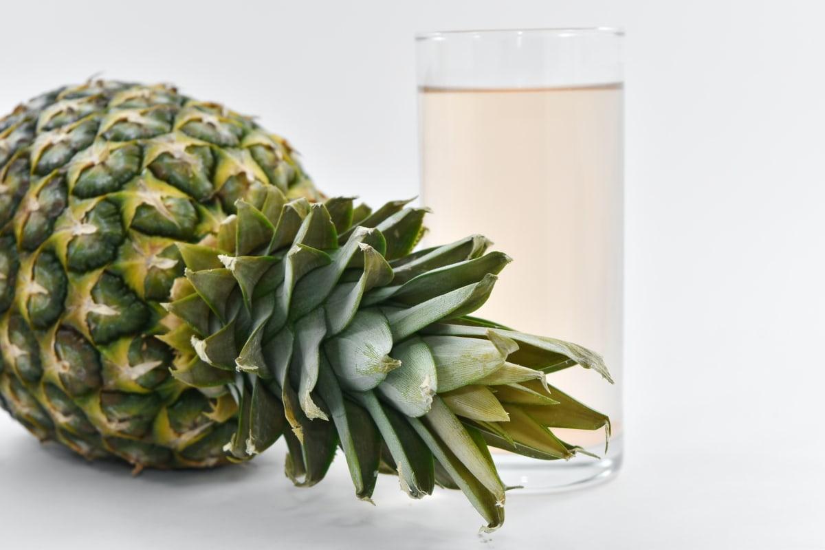 drinking water, fruit juice, pineapple, vegetarian, food, plant, nature, health, still life, fruit