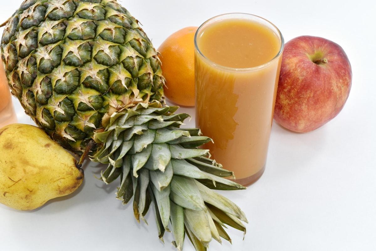 beverage, exotic, food, fruit juice, healthy, liquid, sweet, tropical, pineapple, produce