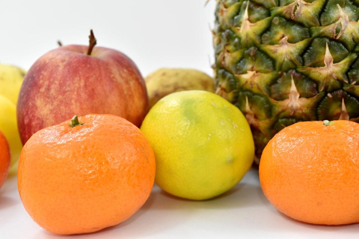 oranges, fruit, pineapple, tangerine, food, vitamin, citrus, health, orange, tropical