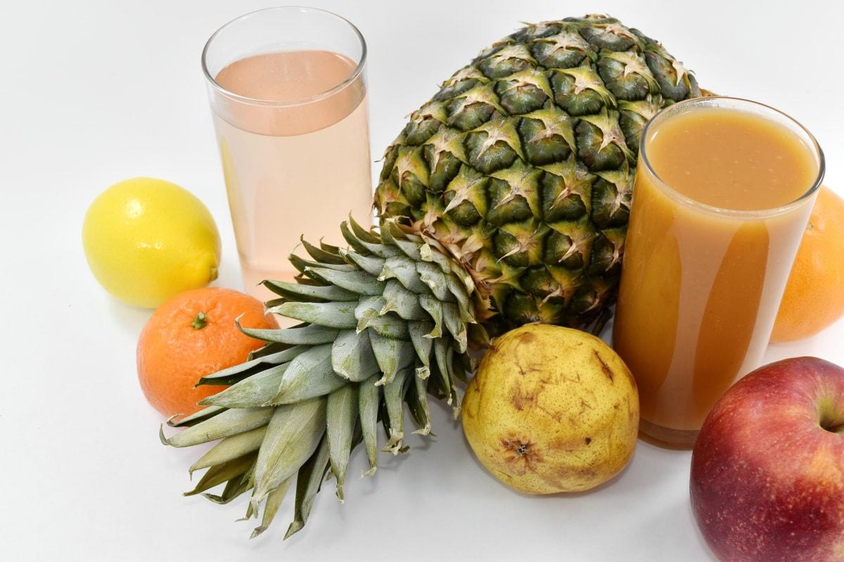 beverage, exotic, fruit, fruit custard, fruit juice, organic, food, pineapple, juice, produce