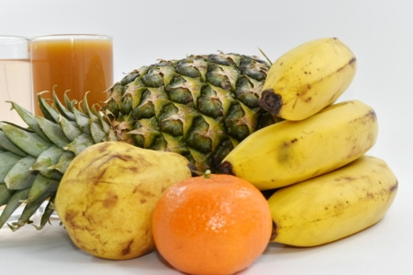 fresh, fruit, produce, banana, food, health, tropical, nutrition, ingredients, vitamin