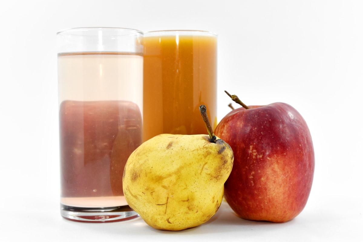 apple, fresh, fruit, fruit juice, pear, syrup, healthy, juice, health, apples