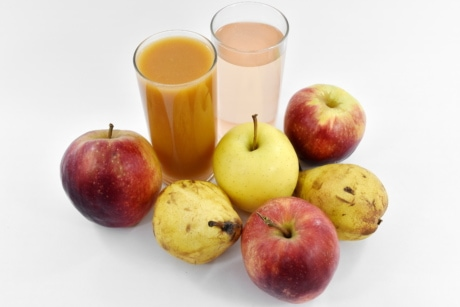 apples, dietary, fruit cocktail, fruit juice, pear, fruit, fresh, vitamin, apple, healthy