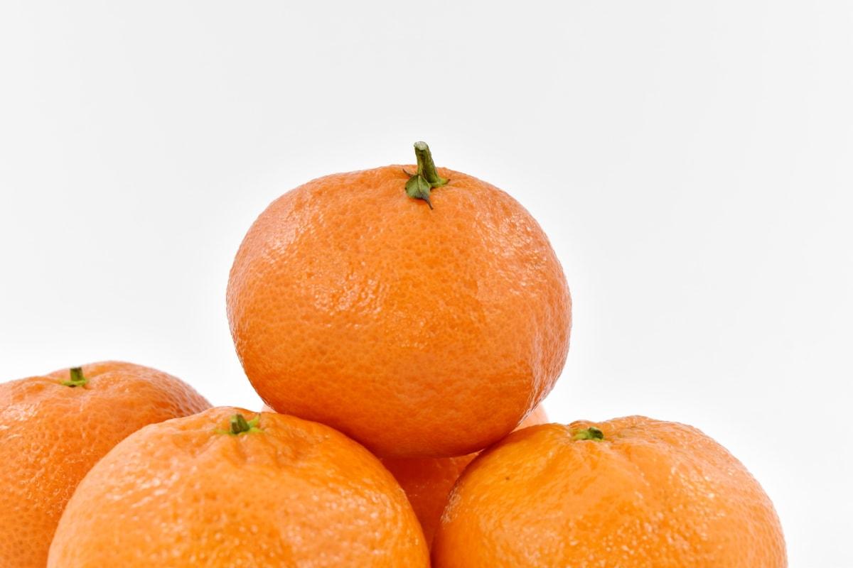 zväčšenie, mandarínka, pomaranče, organické, Tangerine, vegánska, celé, ovocie, oranžová, citrus