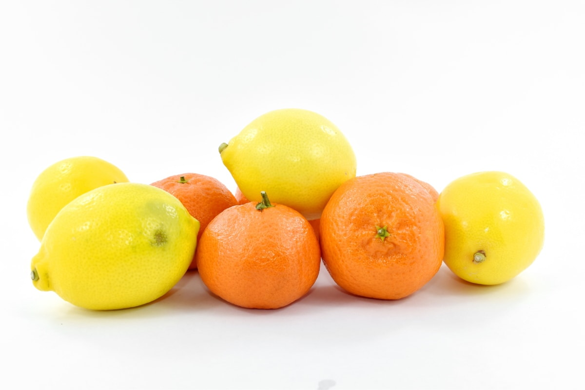 lemon, mandarin, oranges, citrus, food, fruit, tangerine, orange, vitamin, tropical