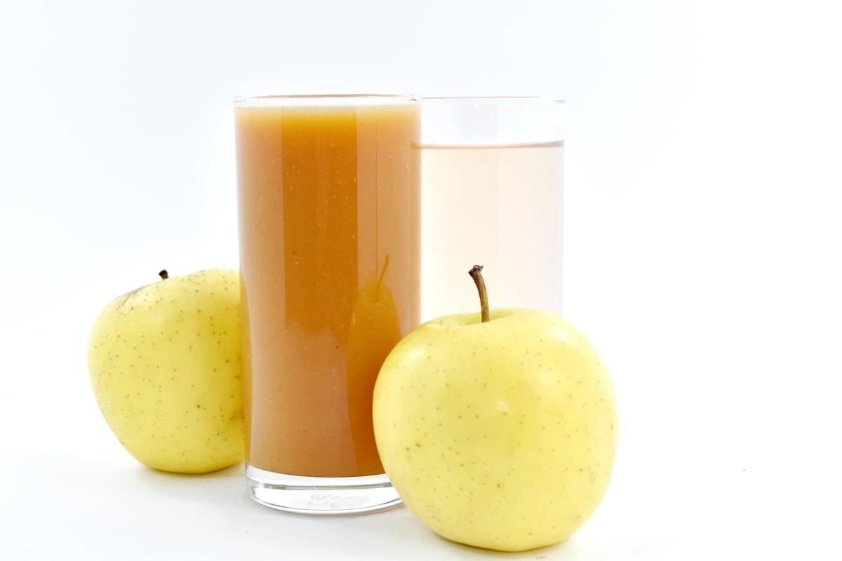 apple, fruit juice, organic, syrup, vitamins, yellowish brown, juice, delicious, sweet, fruit