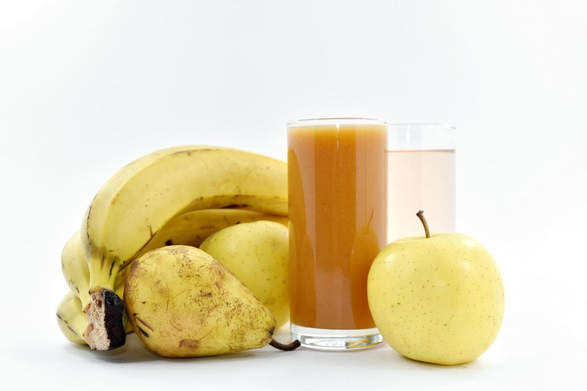 apples, banana, healthy, pear, syrup, fruit, diet, apple, food, health