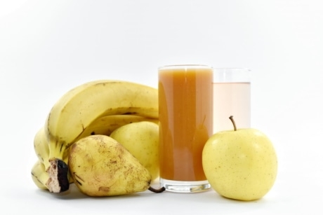 apples, banana, healthy, pear, syrup, fruit, diet, apple, food, health