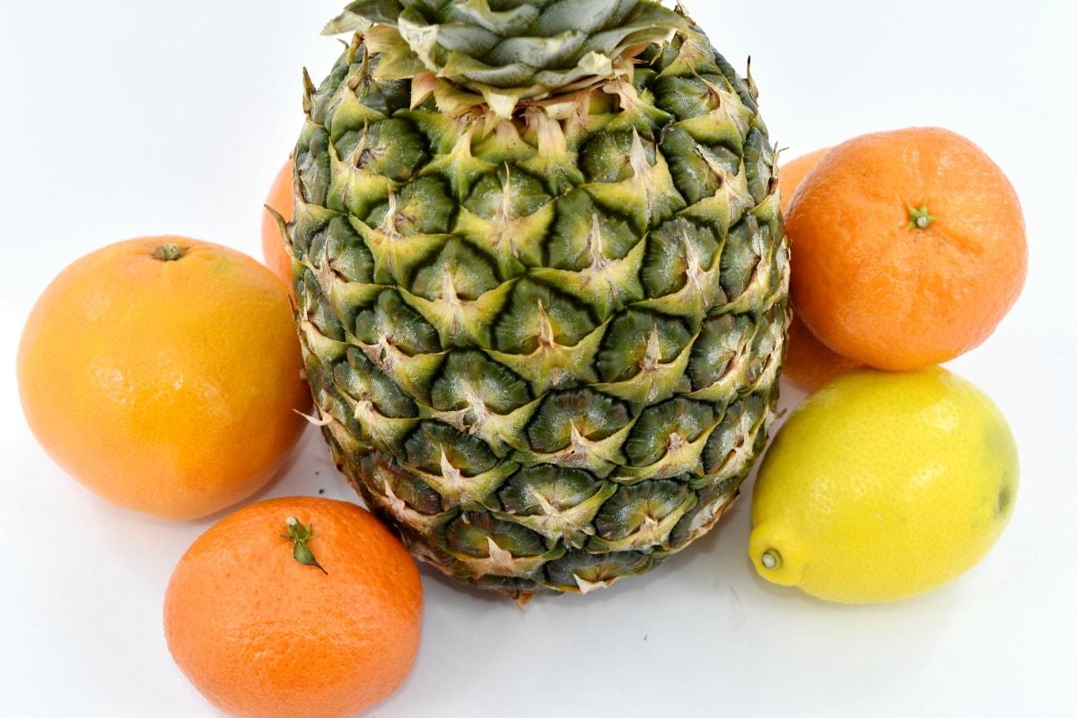 citrus, mandarin, orange peel, oranges, tropical, fruit, produce, food, pineapple, juice