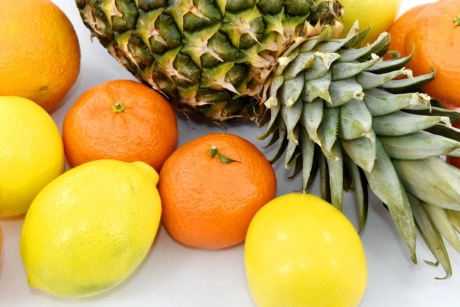 lemon, oranges, food, fruit, orange, pineapple, vitamin, citrus, produce, health