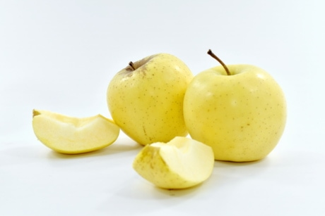 apple, dietary, organic, vegan, vegetarian, yellow, fruit, sweet, delicious, nutrition