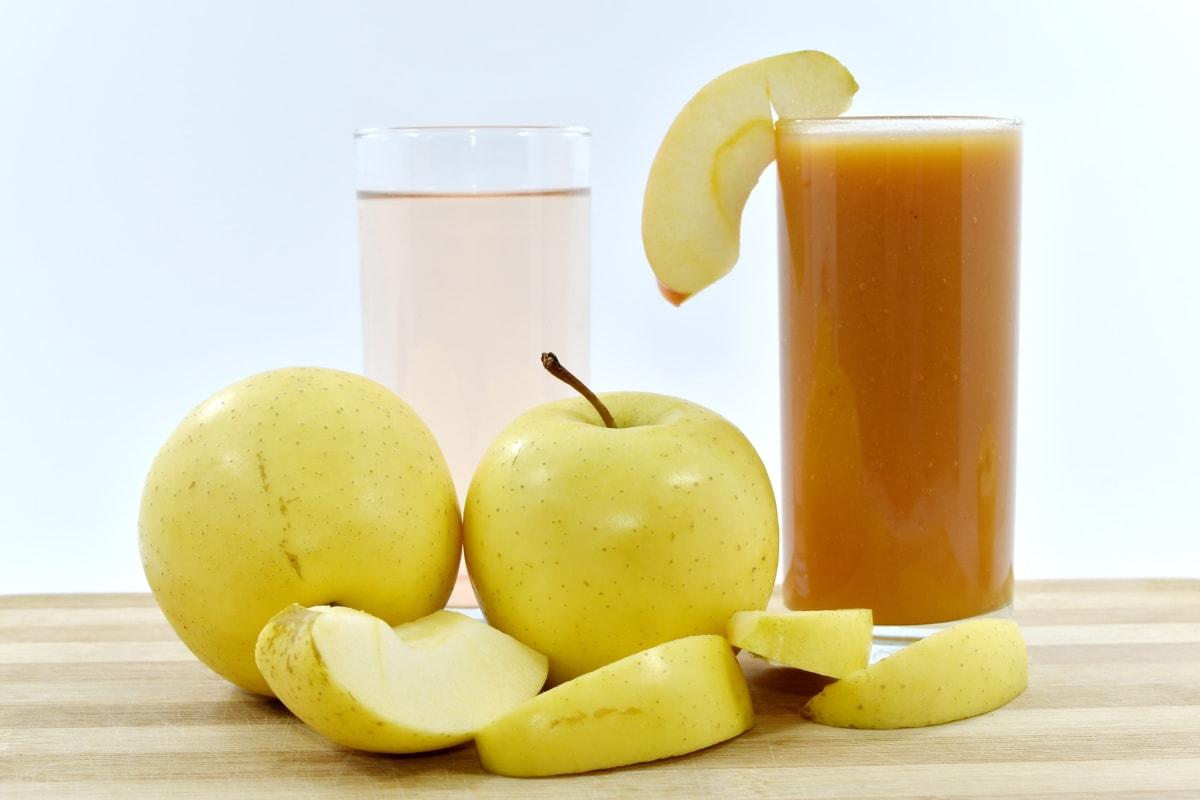 Что за диета с яблочным соком