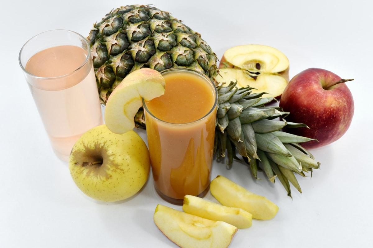 beverage, cocktails, exotic, syringe, vitamins, diet, fruit, apple, produce, food