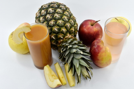 apples, dietary, drinking water, fruit cocktail, fruit juice, liquid, slices, syrup, food, apple