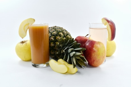 food, fruit, fruit cocktail, fruit juice, organic, pineapple, vegan, juice, apple, vitamin