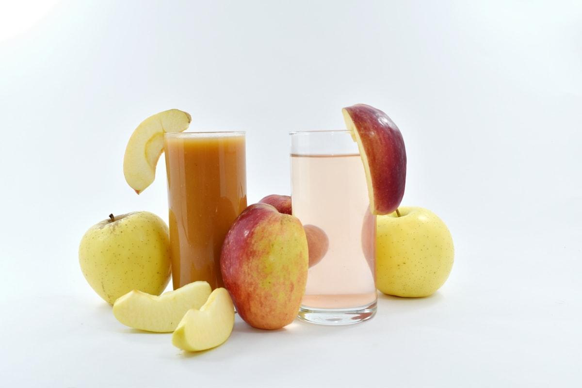 apples, beverage, fruit cocktail, fruit juice, vitamins, fruit, breakfast, confectionery, food, apple