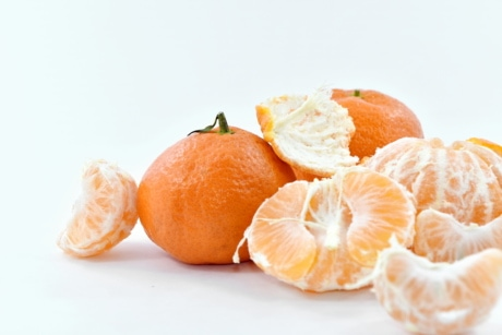 fresh, mandarin, orange peel, slices, sweet, healthy, citrus, fruit, tropical, tangerine