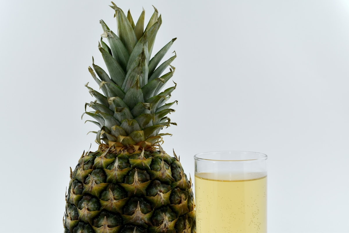 drink, exotic, fruit cocktail, organic, pineapple, fruit, tropical, food, produce, nature