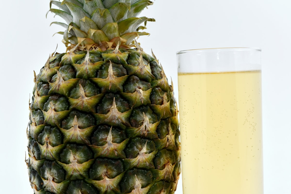 beverage, cocktail, fruit juice, minerals, pineapple, vitamins, food, tropical, fruit, drink