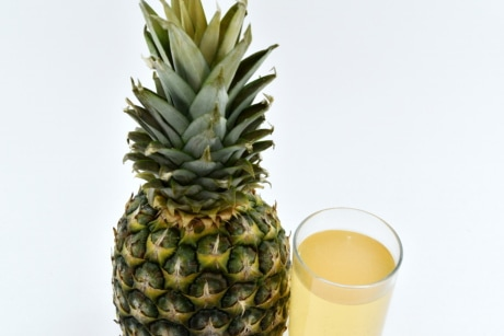 beverage, fruit cocktail, fruit juice, glass, juice, pineapple, food, fruit, tropical, produce