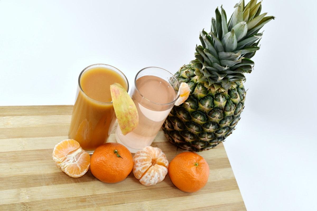 drinking water, fresh water, fruit cocktail, fruit juice, healthy, lemonade, liquid, syrup, fresh, pineapple