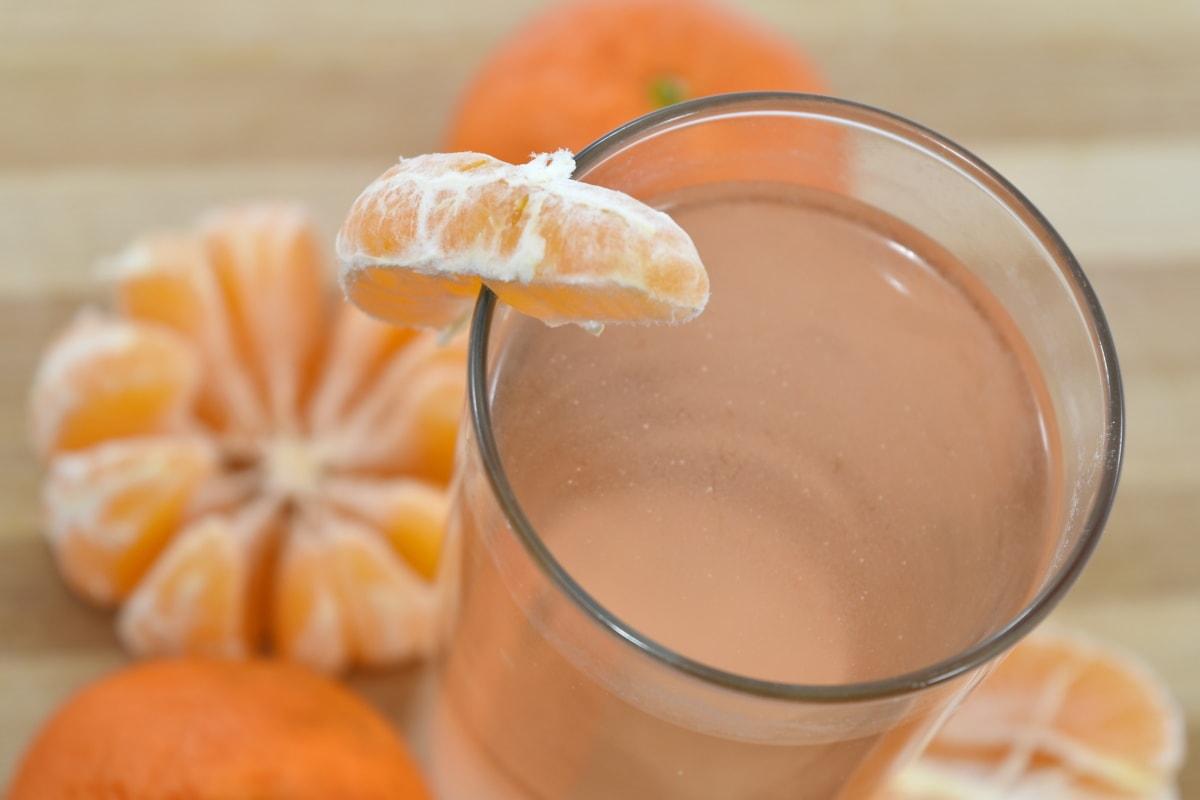 beverage, citrus, delicious, fresh, fruit juice, homemade, mandarin, fruit, glass, juice