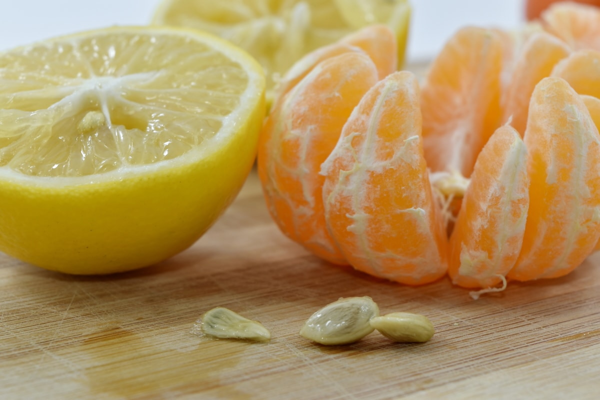 exotic, kernel, lemon, mandarin, seed, juice, citrus, food, fruit, healthy