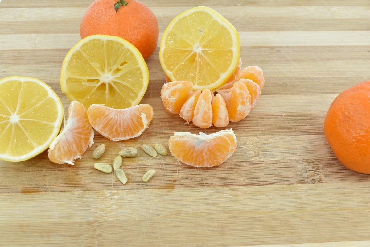 lemon, mandarin, nutrition, oranges, organic, seed, slices, tangerine, orange, vitamin