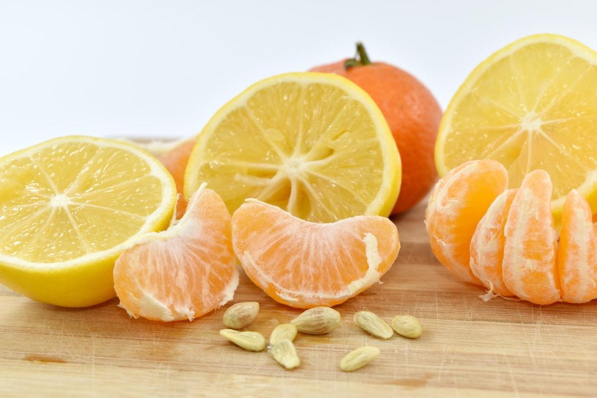 food, healthy, lemon, mandarin, oranges, vitamin, fruit, orange, juice, citrus