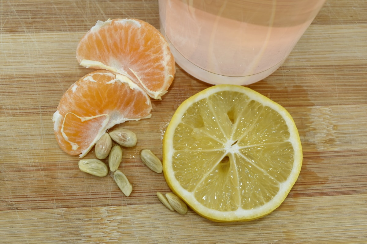 fruit juice, lemon, lemonade, seed, tangerine, healthy, wood, juice, fresh, vitamin