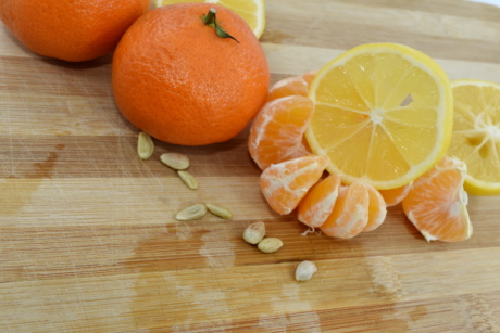 mandarin, orange, seed, tangerine, fruit, vitamin, fresh, citrus, wood, health