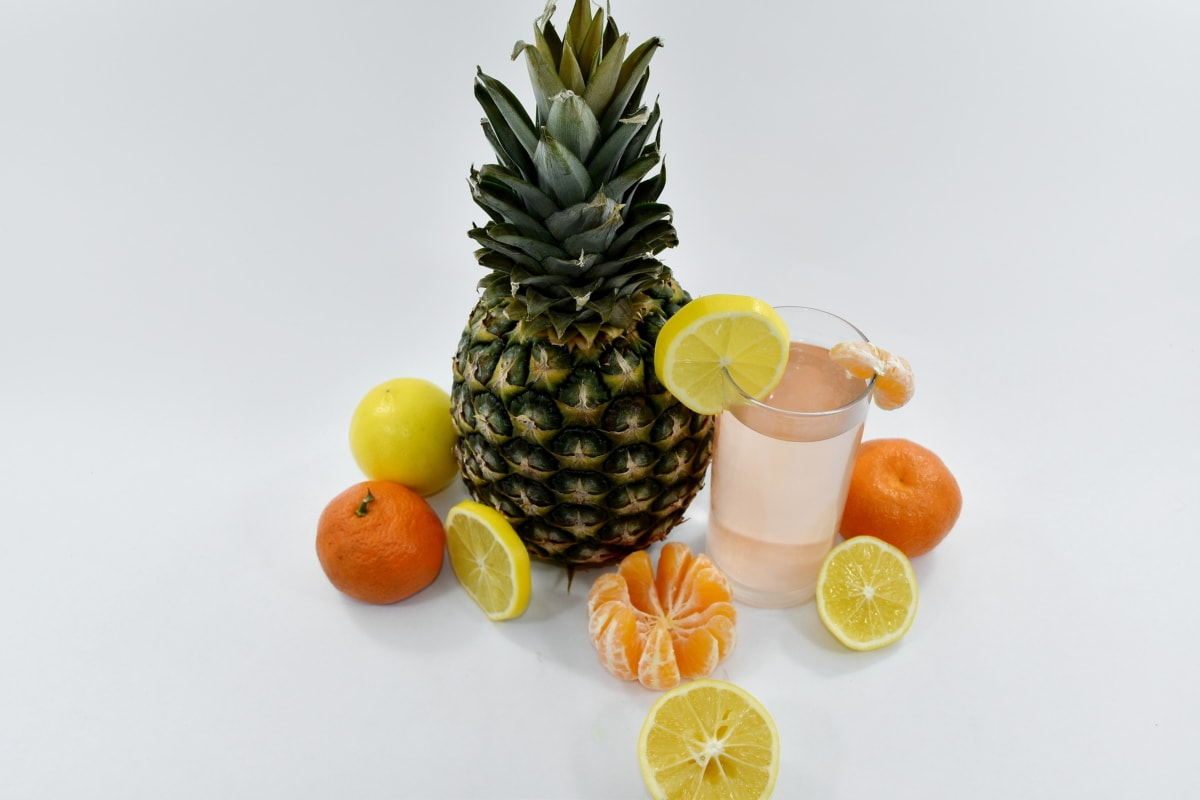 breakfast, lemon, lemonade, mandarin, orange, orange peel, vegan, vegetarian, healthy, pineapple