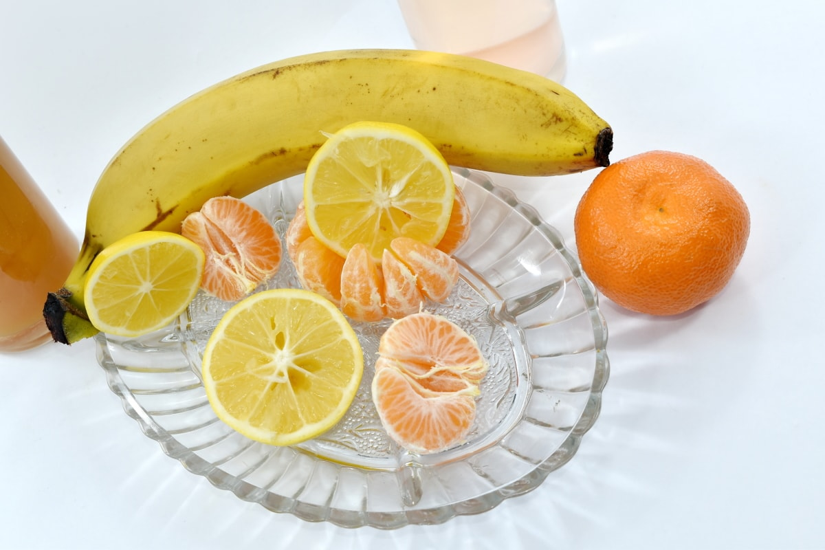 banana, breakfast, dietary, fruit, lemon, nutrition, oranges, organic, orange, healthy
