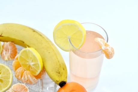 breakfast, fruit cocktail, fruit juice, citrus, fruit, health, tropical, juice, orange, food