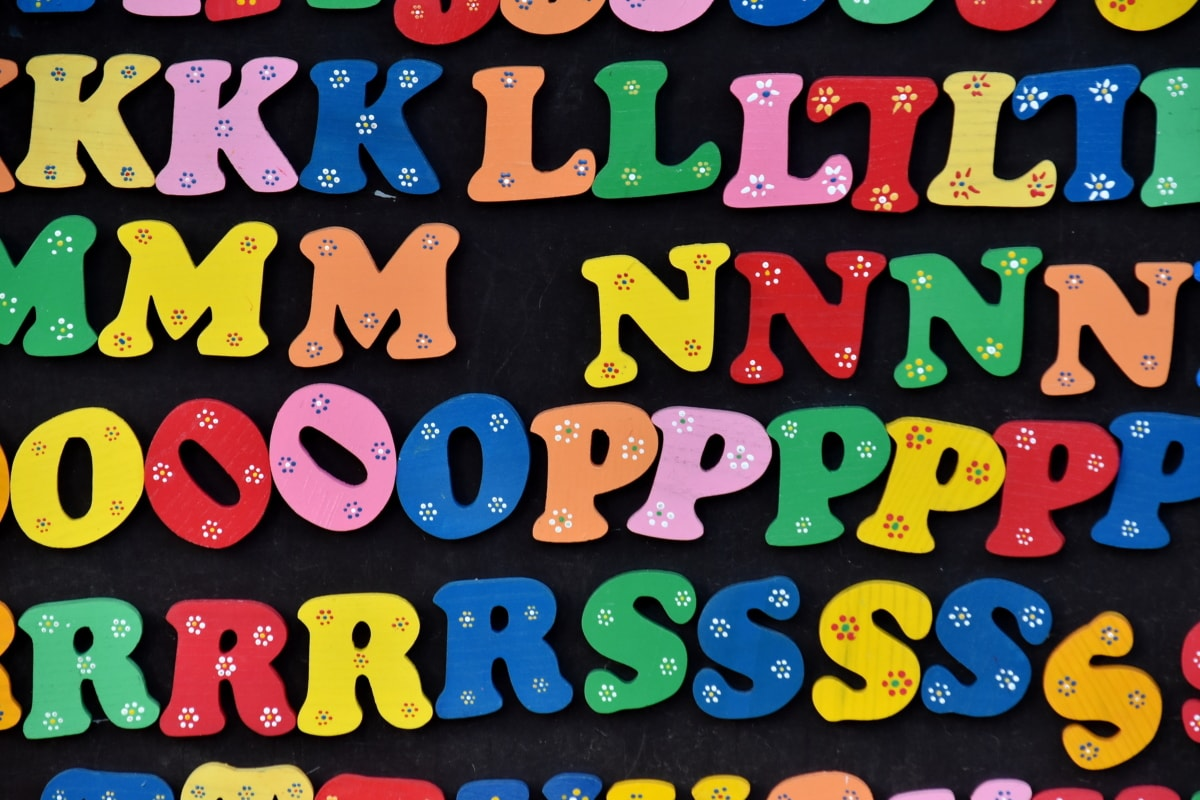 alphabet, blackboard, colorful, design, letters, text, typography, visuals, toy, fun