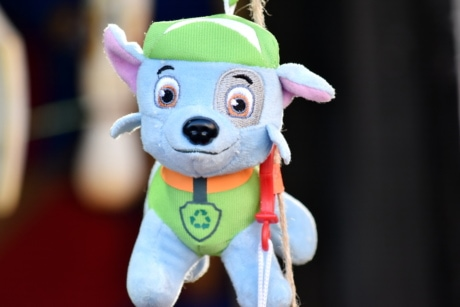 dog, hanging, plush, soft, toy, cute, funny, mascot, fun, eye