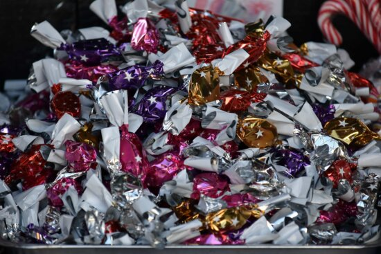 candy, colorful, delicious, shining, sugar, decoration, bright, gift, color, many