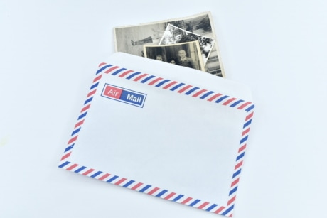 envelope, image, mail, photography, vintage, paper, post, document, letter, text