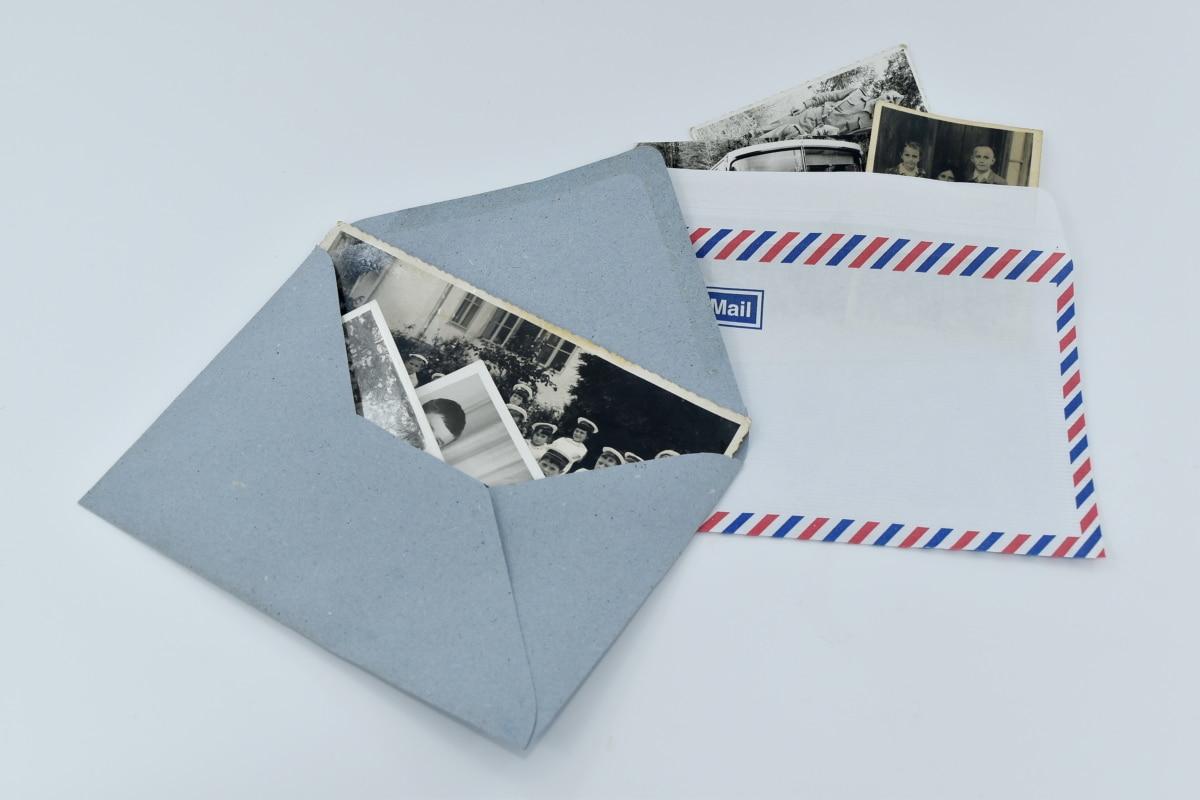 envelope, image, letter, mail, message, old fashioned, photography, paper, still life, illustration