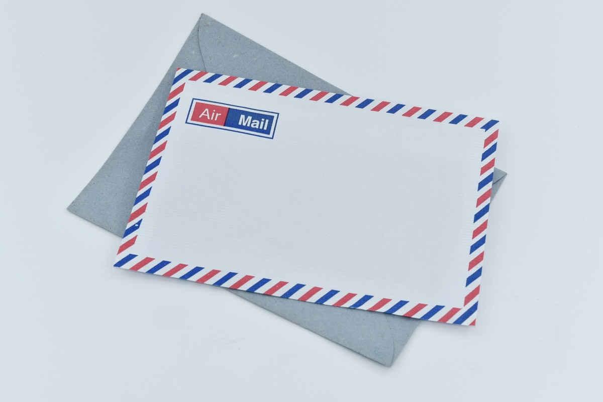letter, mail, post, paper, envelope, business, empty, retro, card, text