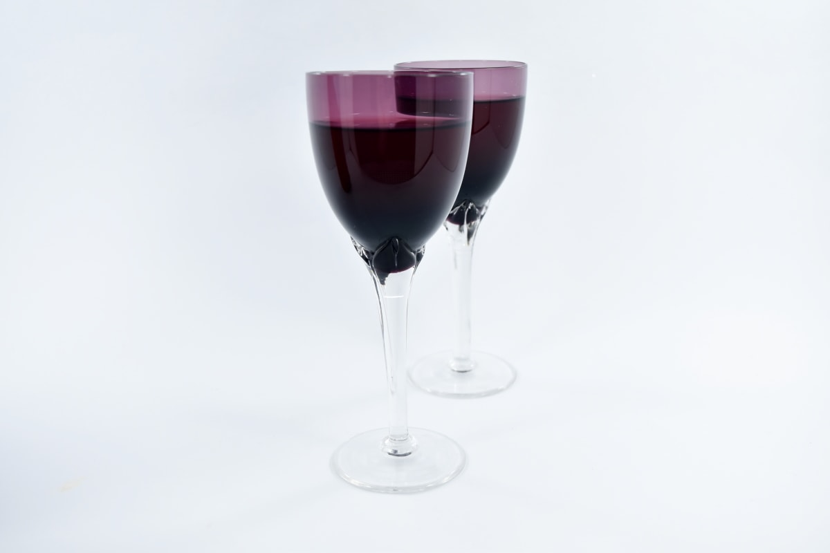 celebration, elegance, object, purple, red wine, wine, glasses, beverage, liquid, alcohol