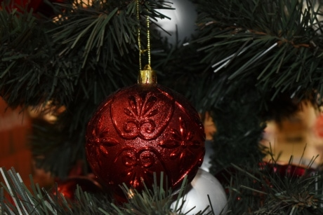 abbey, christmas, christmas tree, elegant, hanging, holiday, object, ornament, shining, traditional