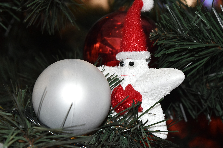 Sapin De Noel Decoration Traditionnelle image libre: noël, sapin de noël, décoration, shining, star