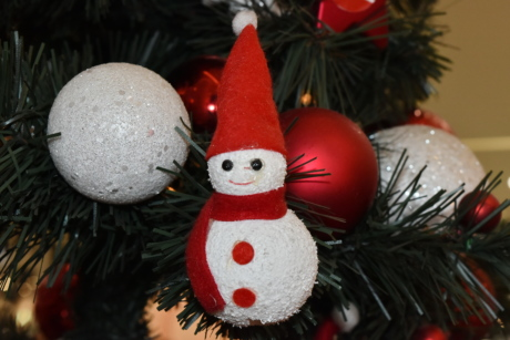 christmas tree, holiday, interior decoration, ornament, snowman, celebration, decoration, christmas, interior design, shining