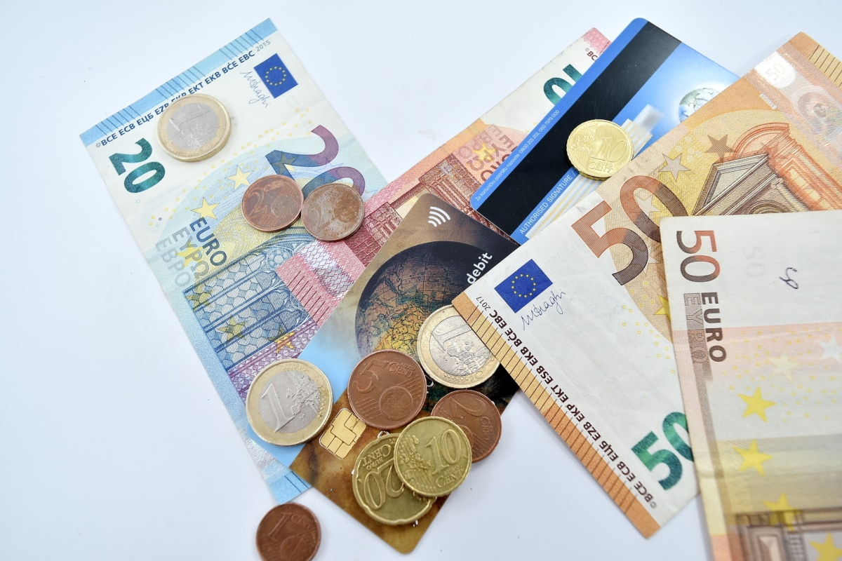 card, change, credit, economic growth, finance, income, paper money, cash, currency, savings