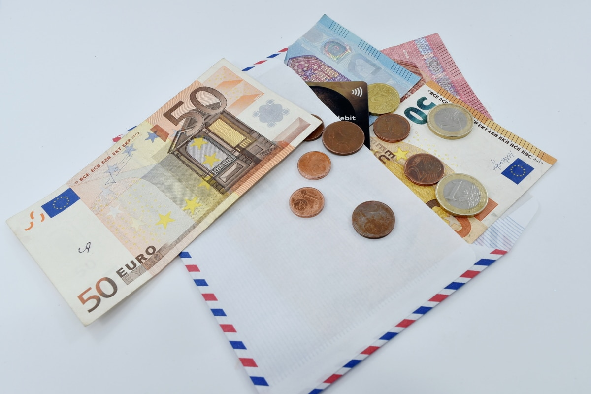 cash account, economic growth, investment, loan, market, paper money, business, envelope, container, currency