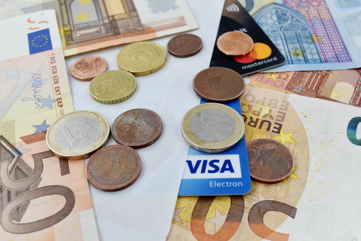 credit, economy, interest, investment, loan, money, savings, euro, paper, currency