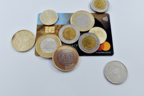 card, credit, finance, forint, money, coins, coin, savings, business, cash