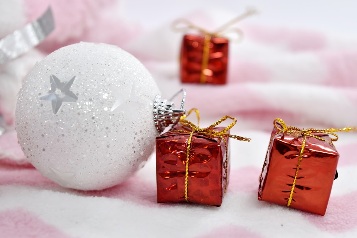 boxes, gifts, new year, shining, surprise, christmas, celebration, bright, traditional, decoration