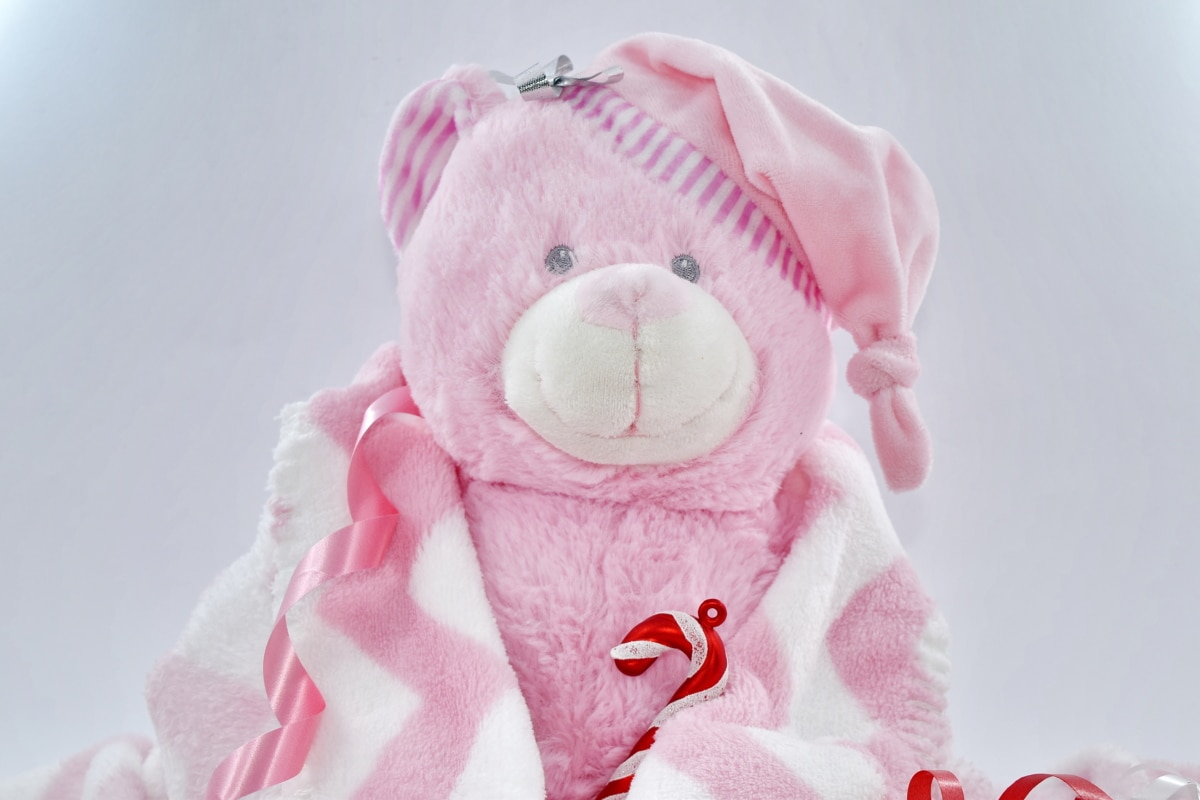 celebration, decoration, orthodox, teddy bear toy, christmas, cute, fun, scarf, funny, cold